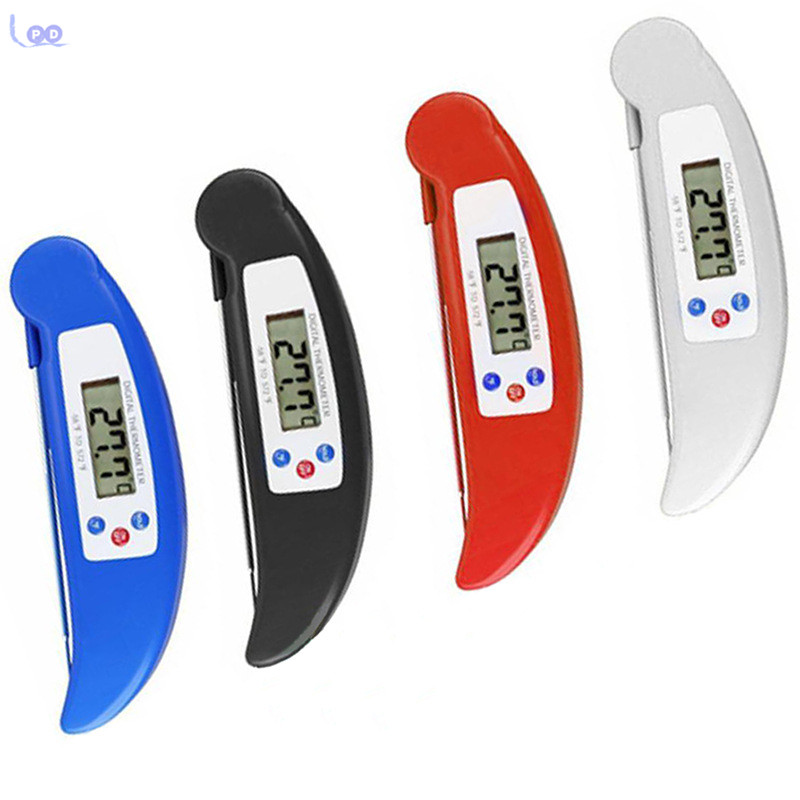 2017 Colorful Steak Grill Thermometer Digital Kitchen Thermometer BBQ Meat Thermometer