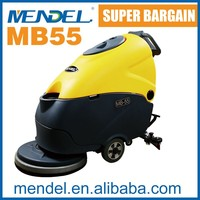 MB55 Hand Held Electric Scrubber Pavement Cleaning Machine