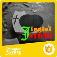 Rich Export Experience Angel Heart Granite Tombstone