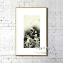 lastest wall art black and white simple best painting