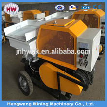 mortar plastering machine/high speed mortar spraying equipment /dry model cement plastering machine