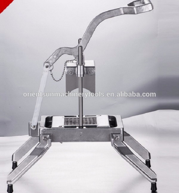 Industy commercial onion cutting machine/vegetable slicer