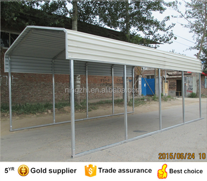 Unique Selling Point Heavy structural carports 10x20 ft metal carport