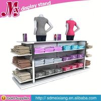 Shop bakery display cabinet, MX4759 shoe store fixtures with lighting cabinet