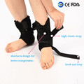 ankle support - Best selling ankle fracture brace foot splint aluminum bars padded ankle support with shoelaces