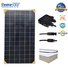 RESTAR 200W 210W 220W Solar cell Solar Panel Price factory direct