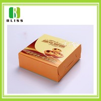 Easy take away cheap price Pizza wax coated paper food box
