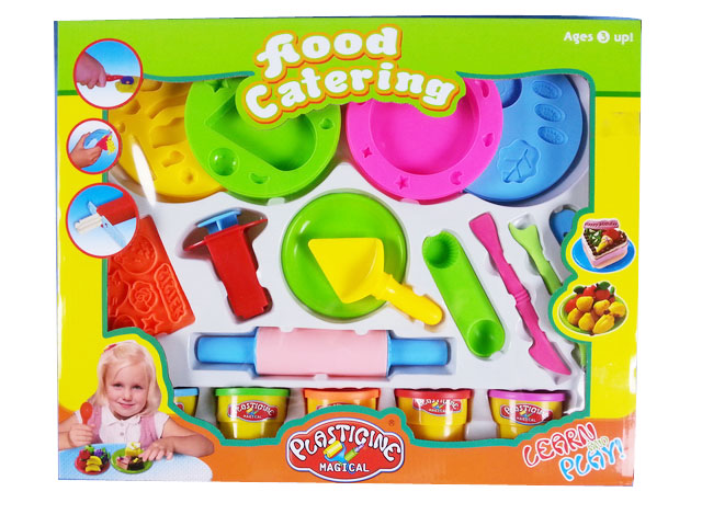 modelling making cake kids fun clay diy plasticine clay with EN71