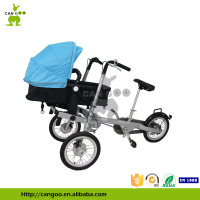 Hot Selling Kinderwagon Fahrrad Buggy Pram With Shimano 3 Speed Gear