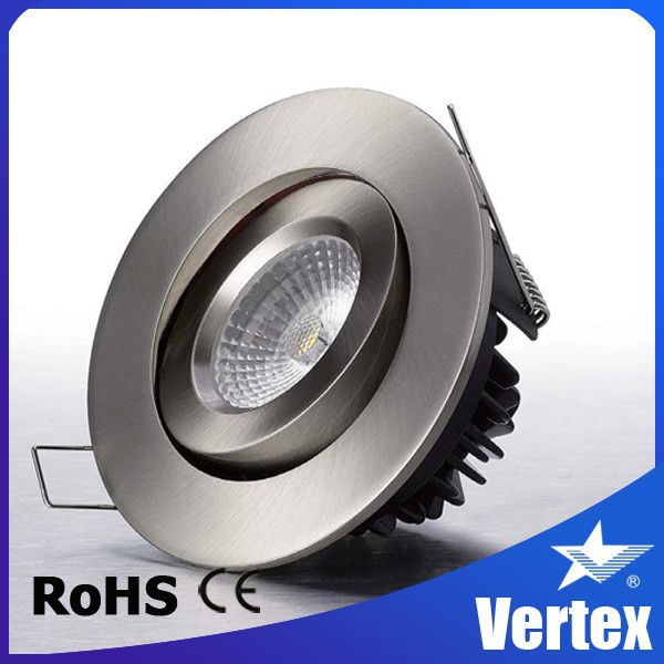 smart phone or PC control new developed 8w cob led cct adjustable 8w downlight