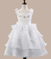high quality girl dress wholesale fancy girl frock