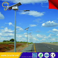 High Lumen Led All In One Solar Street Light Fixture For Sale