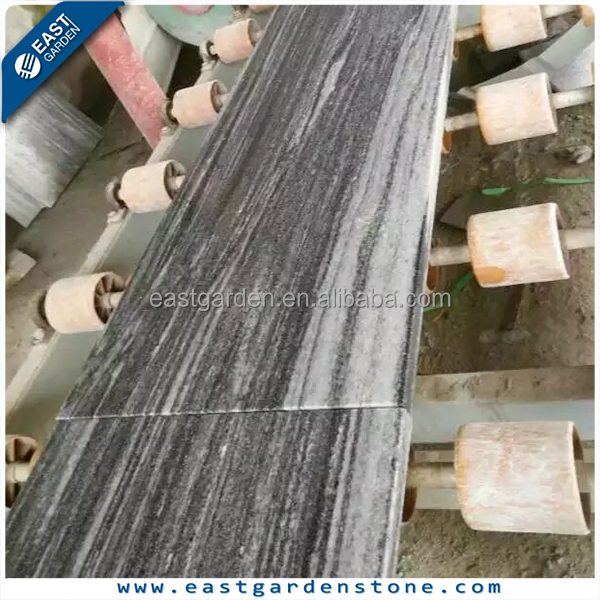 Polished Granite Landscape White Floor Tiles 60x60 For Living Room