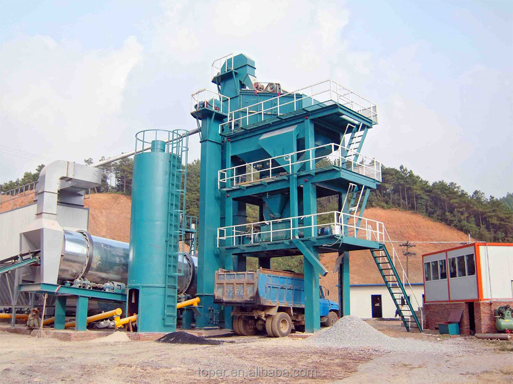 Road Construction Machinery LB1500 Asphalt Batching Plant Asphalt Mixing Plant, Asphalt Batching Plant