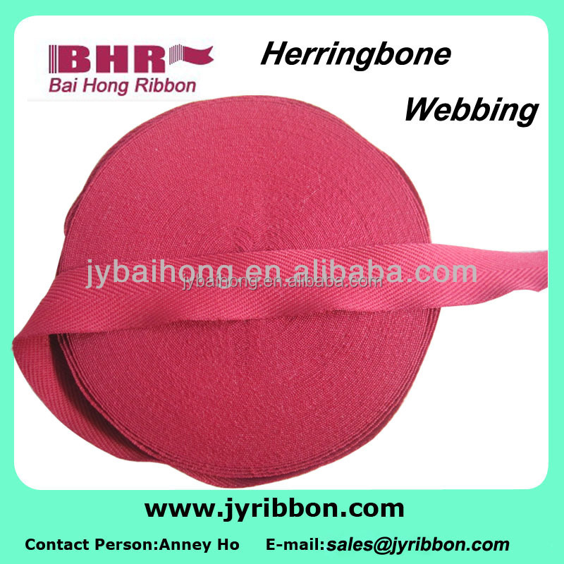 durable in use polyester luggage flat band