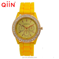 QD0141 geneva top brands japan movement genuine diamond quartz watches