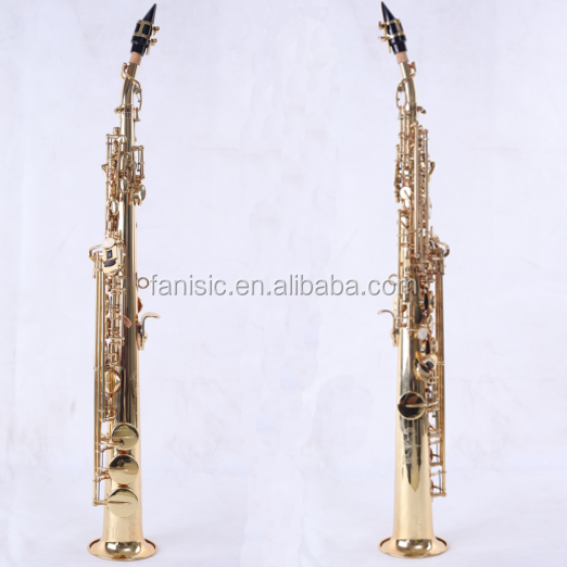 High Quality Saxophone Selmer Soprano Saxophone for Teaching and Performing