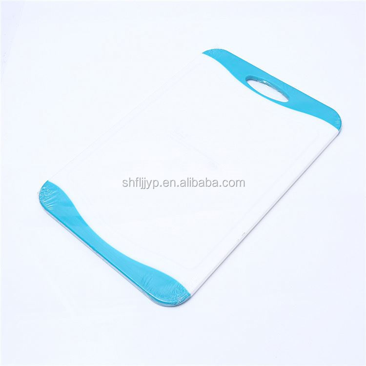 Flexible mat super quality cooking block cutting plastic chopping board set