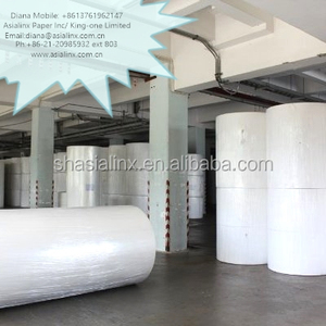 Toilet Jumbo Roll towel tissue tissu paper jumbo rolls 12.5 gsm of facial tissue and paper napkin 22gsm