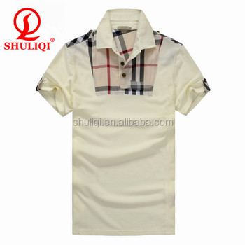 Wholesale mens brand polo shirts made of egyptian cotton for Cheap branded polo shirts