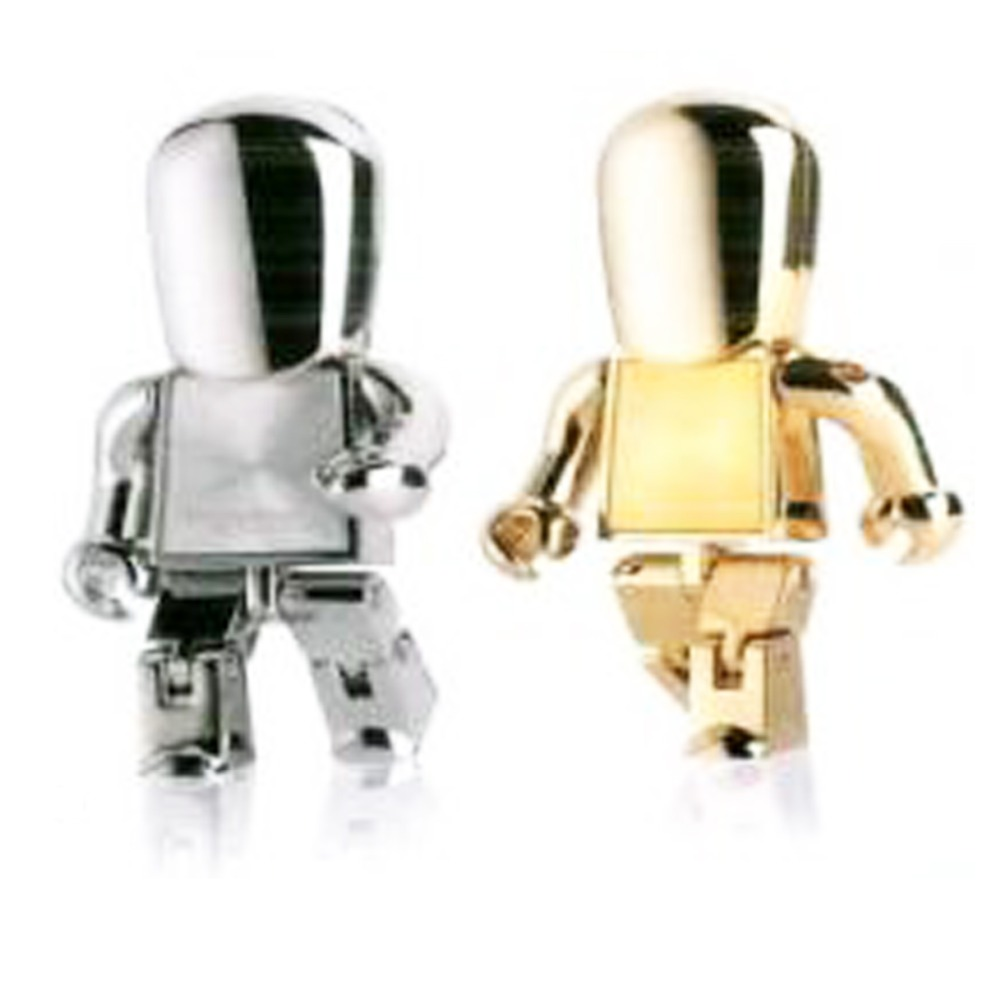 Metal Robot USB Flash Drives2GB-16GB