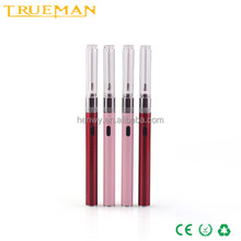 Evod Slim Electronic Cigarettes 510 micro 5pin usb passthroug battery ,replaceable clearomizer women vaporizer kit
