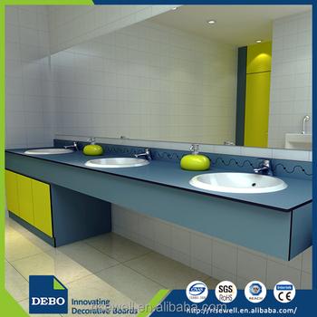 Top quality modern bathroom vanity solid surface laminate laminate countertops