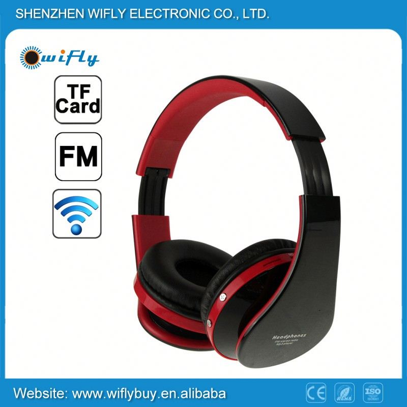 Mp3 earphone cable headphone wholesale stereo bluetooth headset with mp3 player
