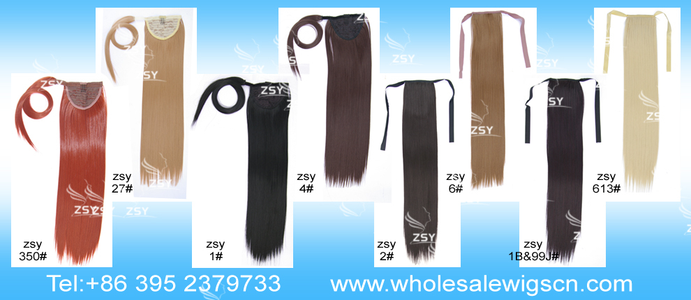 ZSY Hot sale!!! ZSY Hot Selling synthetic ponytail