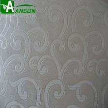 embossing pattern pu leather pvc leather stock lot for wall or decoration