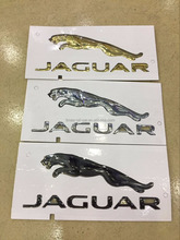 Jaguar emblem and letter badge
