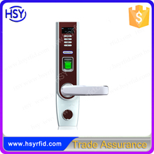 Access control digit code keypad biometric fingerprint door lock rfid id card mf smart card lock