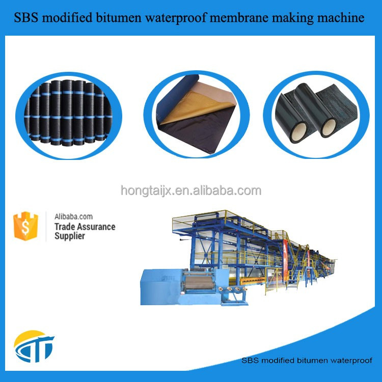 High Quality SBS Bituminous waterproofing Machinery making waterproof membrane