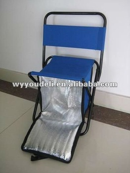 folding fishing chair WITH COOL BAG