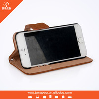 2015 Fashion brown phone cover cell phone leather case