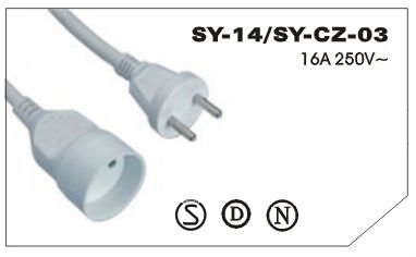 3 pin extension cord
