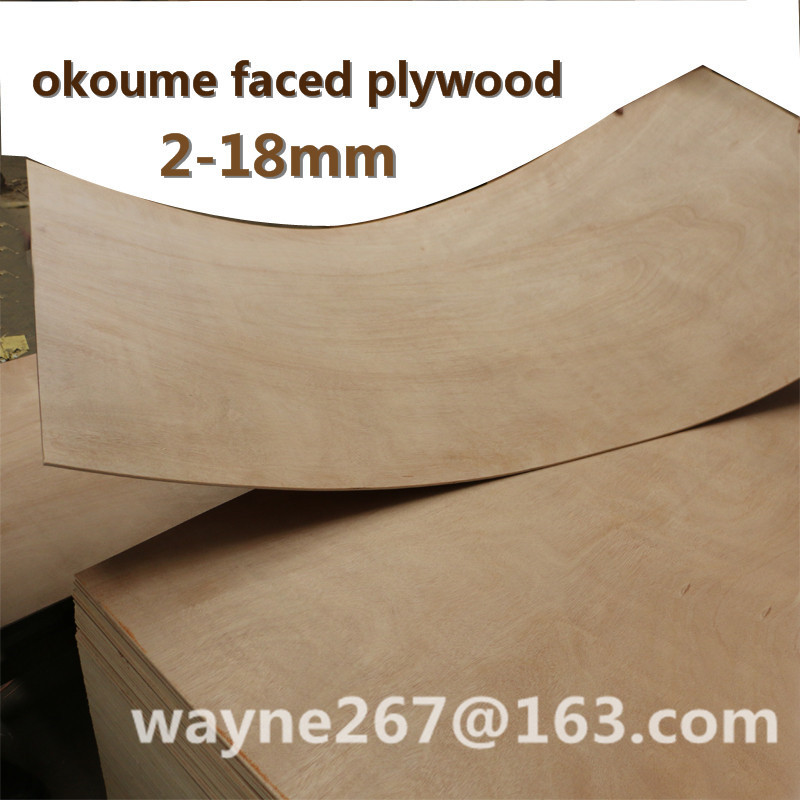 4'x8' or 3'x7' Hardwood, Bintangor or Okoume Plywood Low Price Cheap