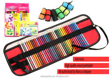 Marco painting tool box fine art drawing pencils sketching set + 36 holes bag