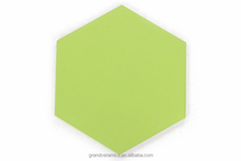 Hexagon modern Emerald green flooring tile wall tile