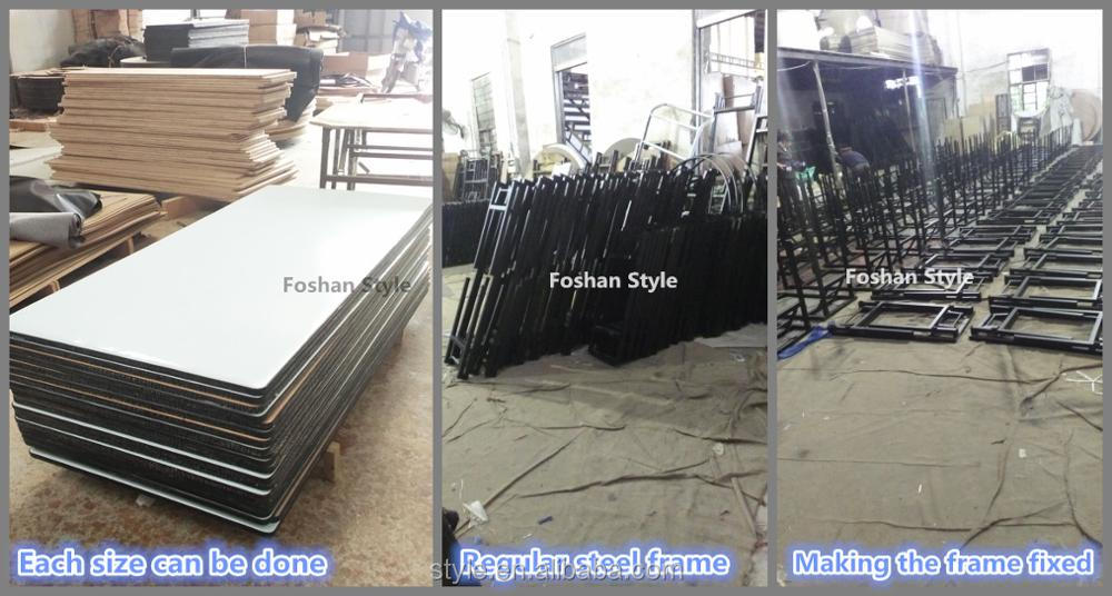 rectangular tables, PVC foldable banquet hall wholesale hotel, resteraunt, dinning room