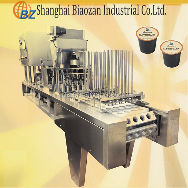 k-cup coffee filling sealing machine/k-cup filling machines