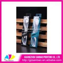 Foldable acetate cable box pvc plastic handling packaging box