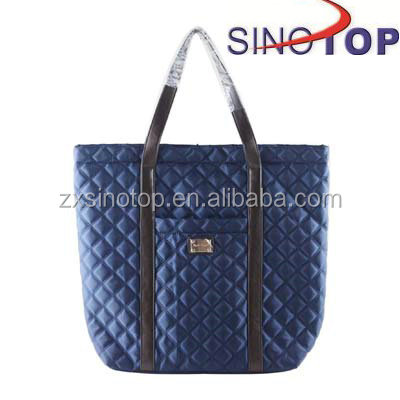 Nylon Mummy Bag Quilted Tote Bags Wholesale Habdbag for Woman