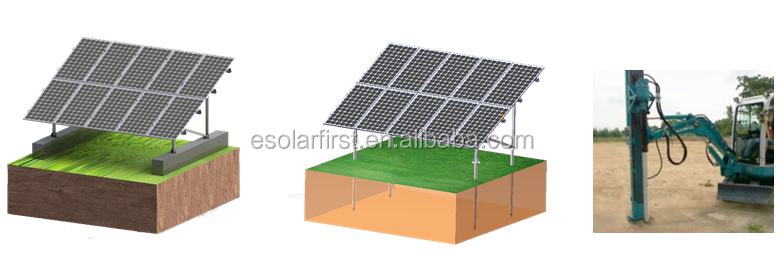 Solar Panel Installation 1mw Ground-Mounted 1mw power plant