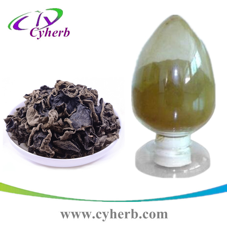 Supply 100% Natural High Quality 10% Black Fungus Polysaccharide