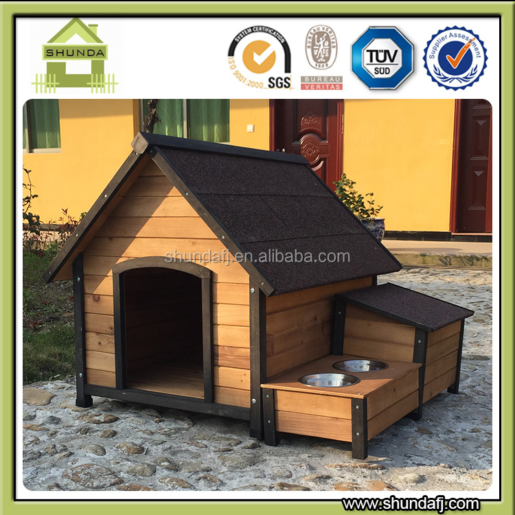 SDD0405 Outdoor Wooden Pet House for Cats Dog