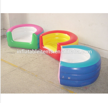 Customize inflatable adults chair sofa/plastic inflatable sofa chair for kids Adults