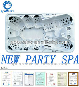 Economic New arrival party Spa/ Outdoor jacuzzy &Massage big bathtub for luxury life---(A870)