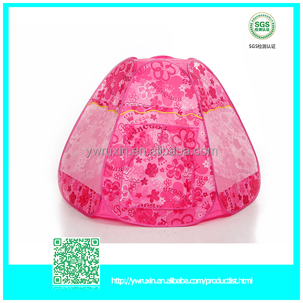 2016 hot item kids pop up tent for wholesale