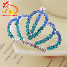 Hot sale attractive style wedding kids princess jewelery tiara crowns